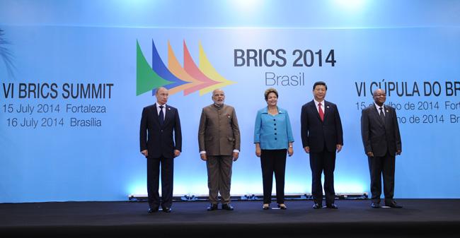 BRICS 2 meeting Brasil 2014