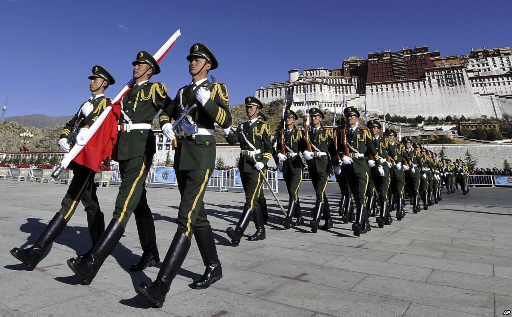 Chinese military in Tibet
