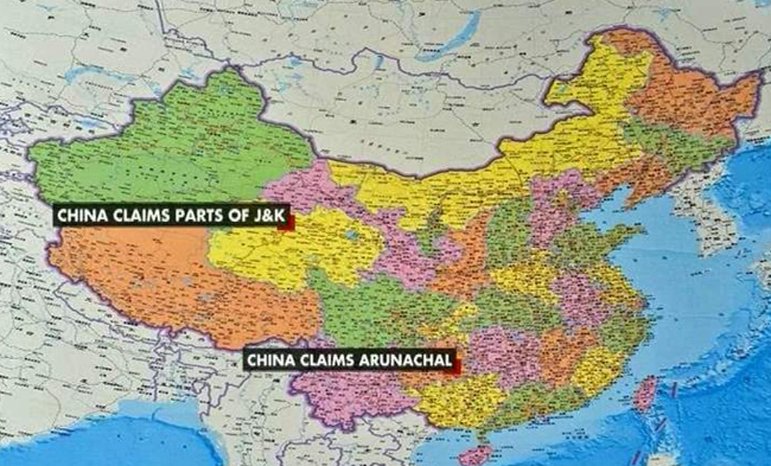 India reiterates Arunachal stand as China launches new cartographic empire dream