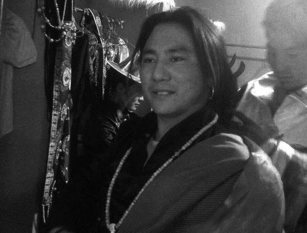 Tibetan singer Gebe