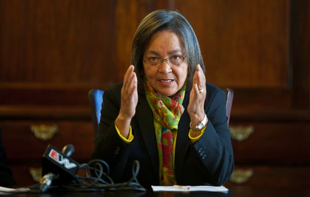 The Executive Mayor of Cape Town, Alderman Patricia De Lille. Photo courtesy: Halden Krog)