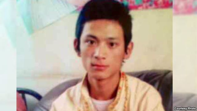 Lhamo Tashi in an undated photo. (photo courtesy RFA)