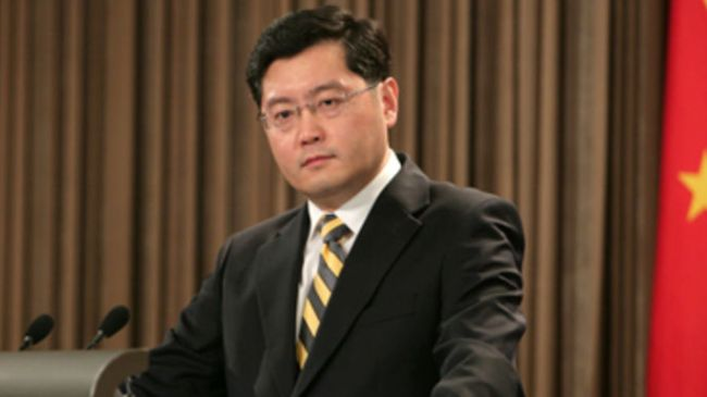 China's Foreign Ministry spokesperson, Qin Gang
