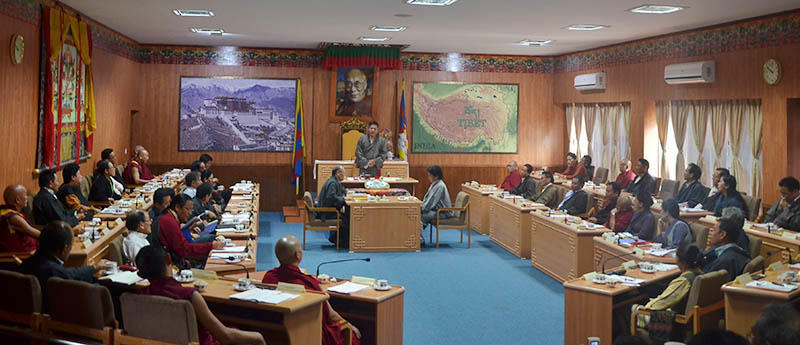 Exile Tibetan parliament opens session, to discuss annual budget