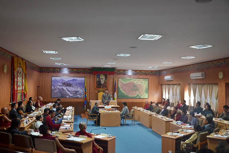 Tibetan Parliament-in-Exile, Dharamshala, (H.P) INDIA