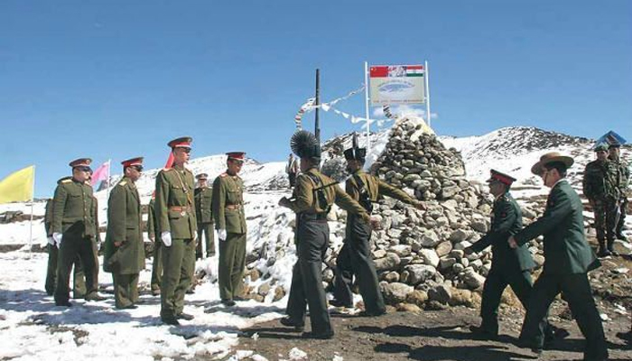 China cautions India against strengthening its border outposts