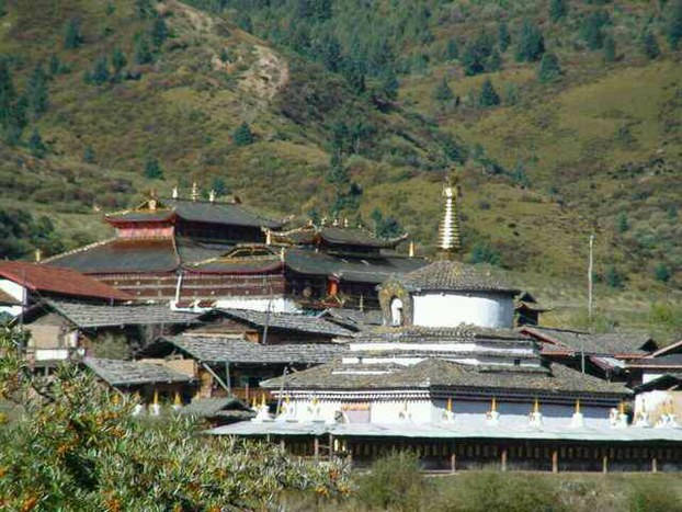 Muge Monastery. County of Ngaba (Aba) Prefecture, Sichuan Province. (Photo courtesy: RFA)