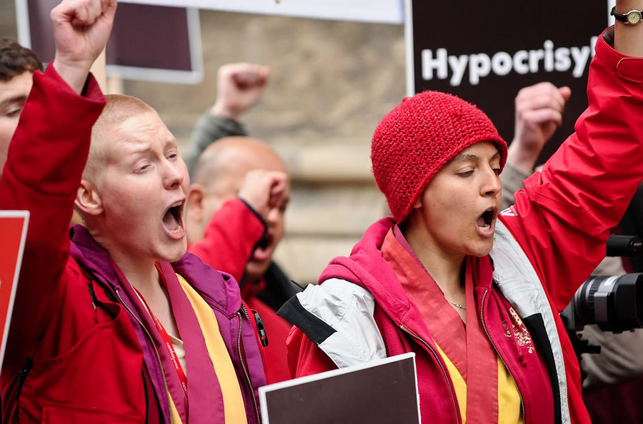 Shugden protesters criticized for advancing China's agenda on Tibet