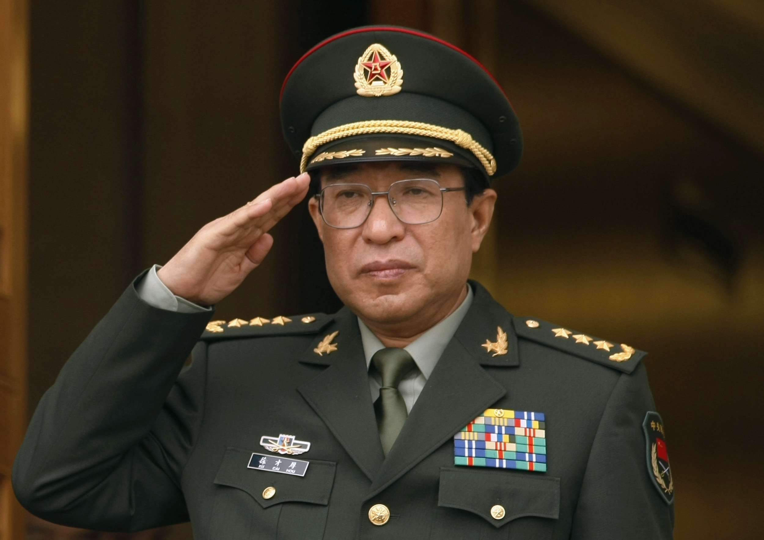 Xu Caihou, a former vice chairman of China's powerful Central Military Commission.