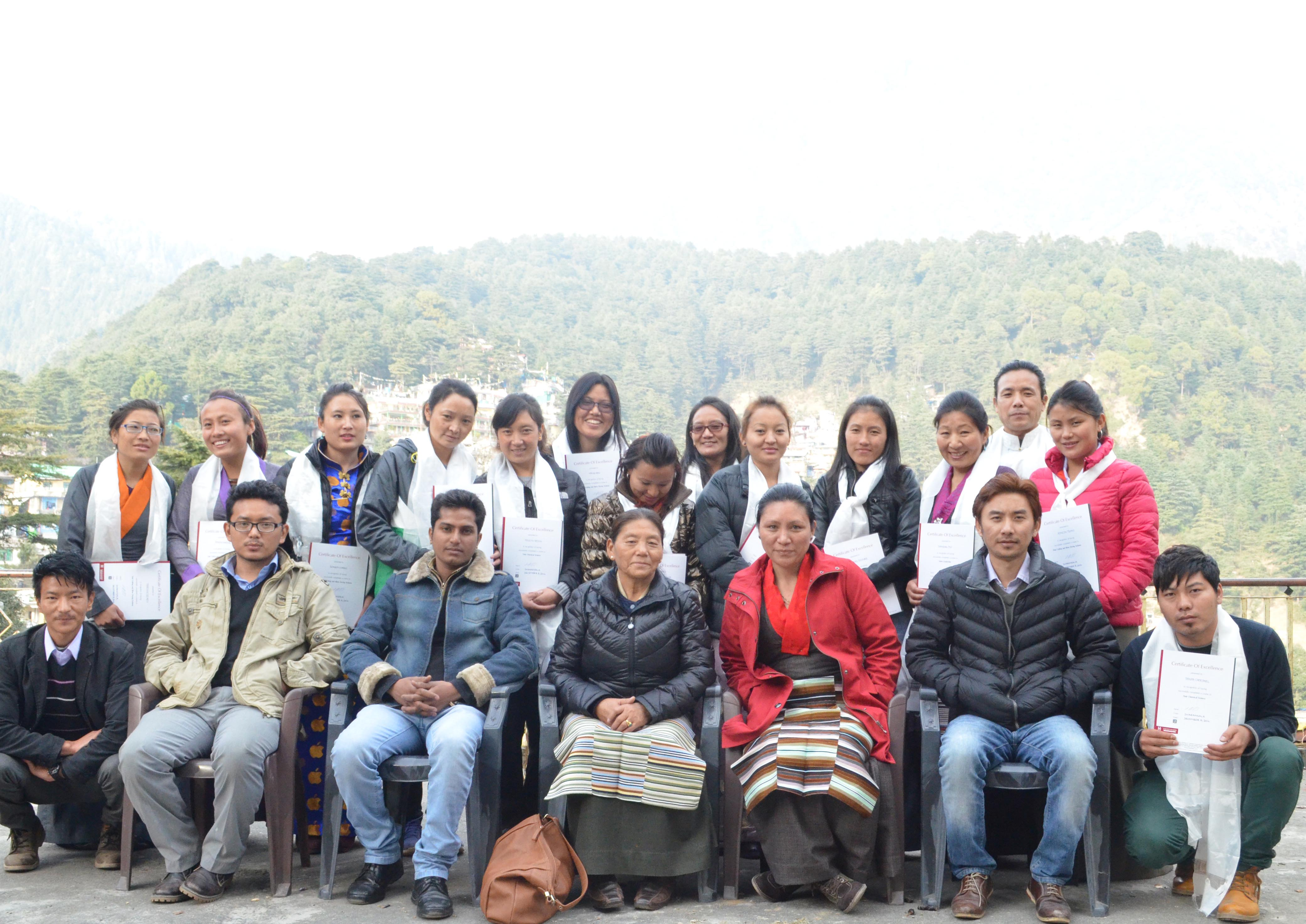 Convocation held by the Tibetan Career Center, a project of the Central Tibetan Administration, Dharamshala