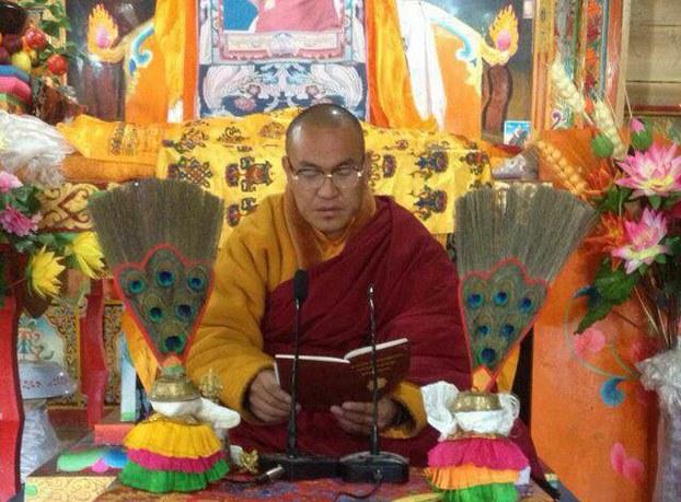 Kalsang Yeshe in an undated photo. (Photo courtesy: RFA)