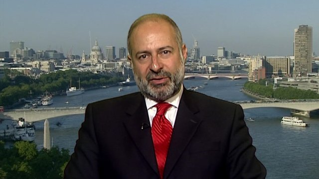Mr Fabian Hamilton,  chair of the All Party Parliamentary Group for Tibet. (Photo courtesy: BBC)