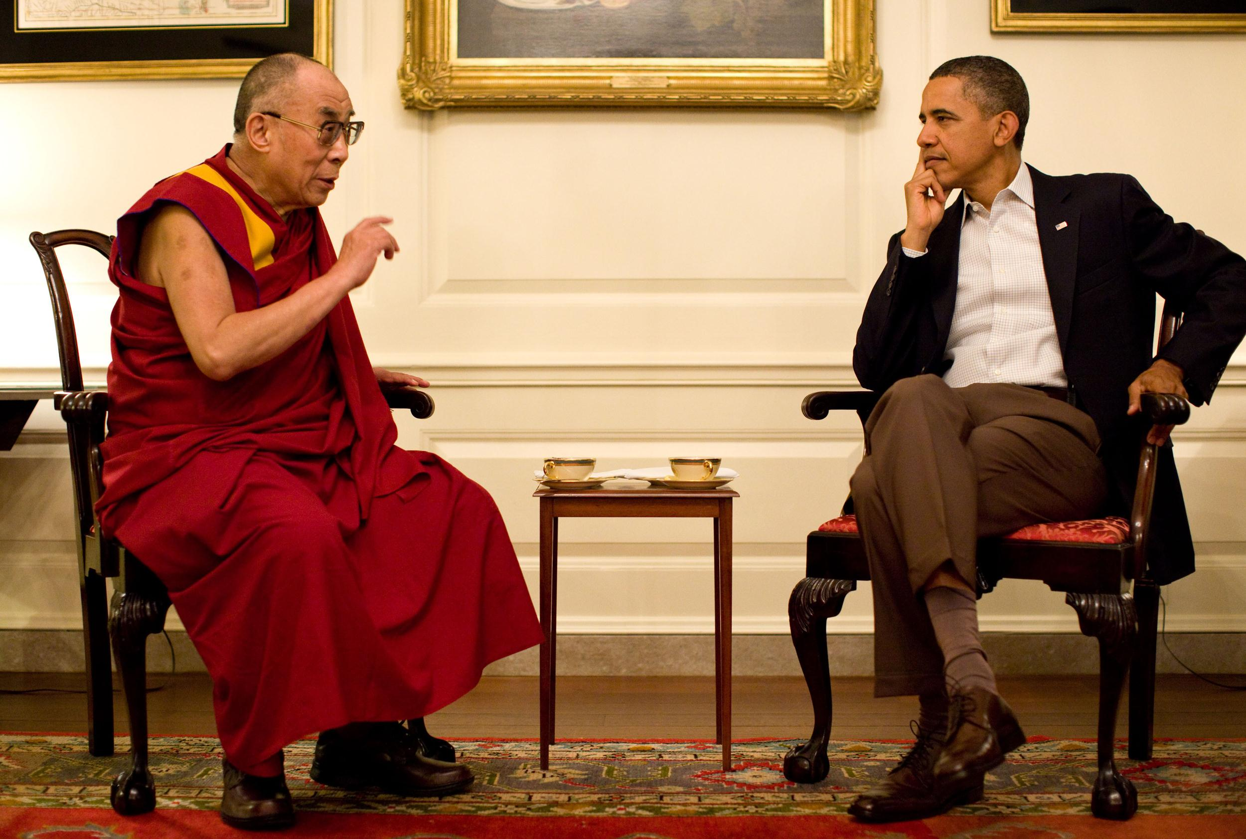 Dalai Lama and Obama set for first joint public appearance