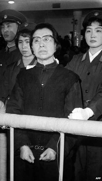 "Some hark back to the ""Gang of Four"" era in the 1970s, after which Mao Zedong's widow faced trial. (Photo courtesy: AFP)"