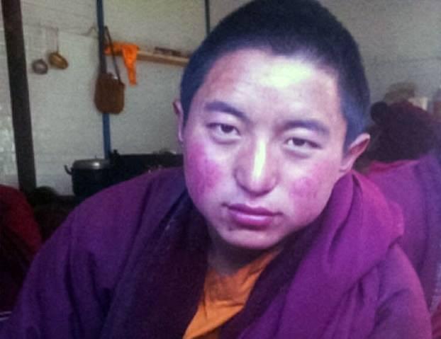 Pema Dorjee, 17, Za Gonsar Monastery. (Photo courtesy: phayul.com)