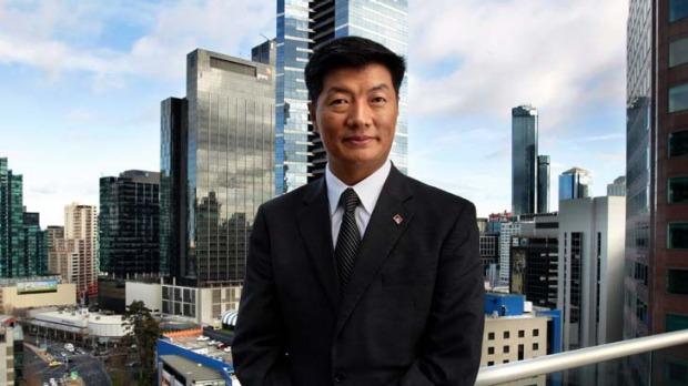 Sekyong Dr. Lobsang Sangay.