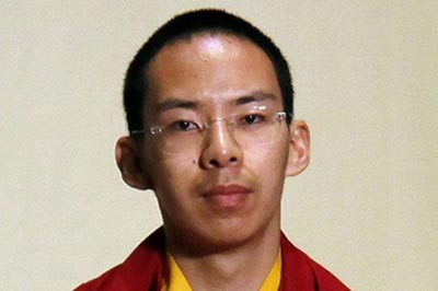 Gyaltsen Norbu, the 11th Panchen Lama selected by the Chinese government.