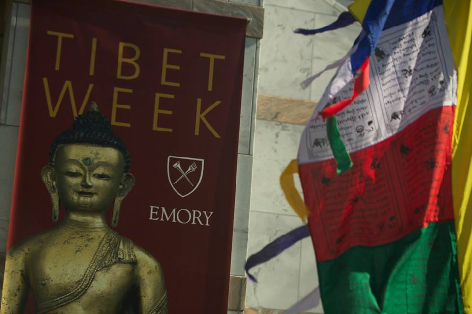 "Tibet Week 2015, ""Exploring Compassion"". (Photo courtesy: www.tibet.emory.edu)"