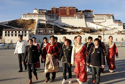 Tibetan Student in Lhasa