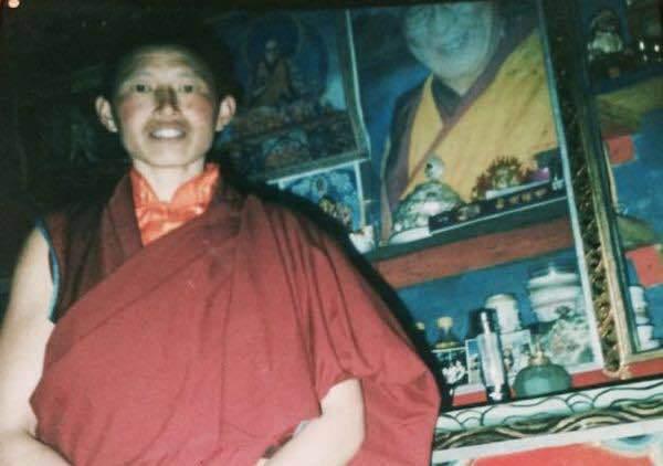 Yeshi Khando in a file photo. (Photo courtesy: RFA)