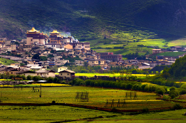 Gyalthang (Shangri-La) County in Dechen (Diqin) Prefecture, Yunnan Province