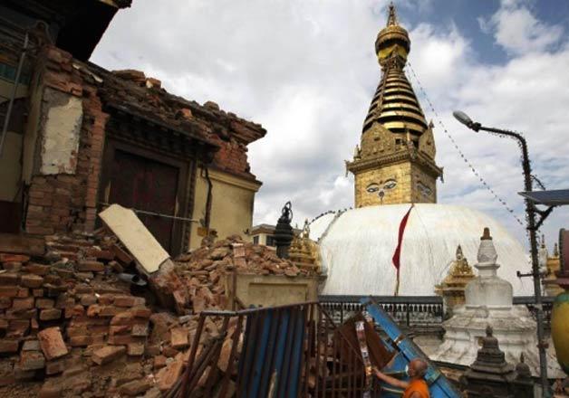 Swambhu in Nepal