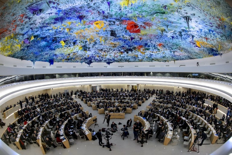 U.N. Human Rights Council.