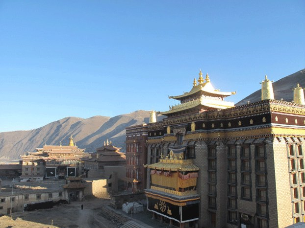 An undated photo of Jonang monastery in Sichuan province's Dzamthang county. (Photo courtesy: RFA)