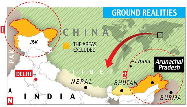China refusing to clarify line of control along disputed border with India
