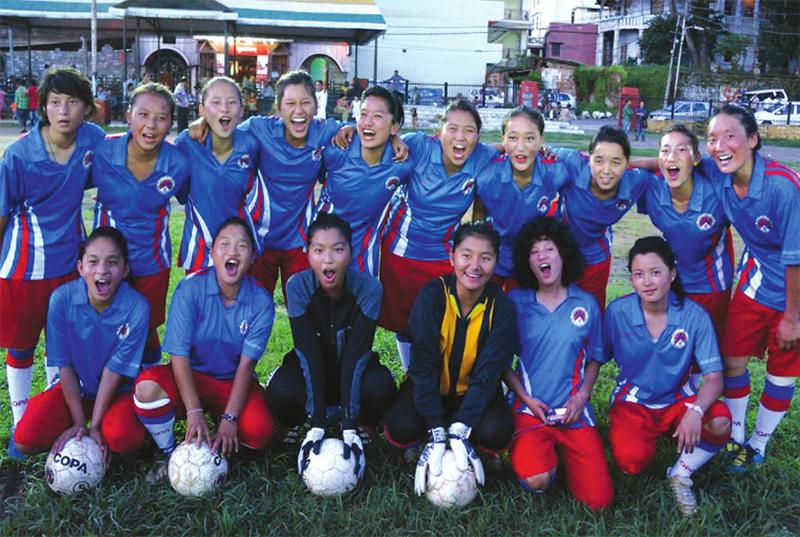 Tibet-Women-Sport-2014