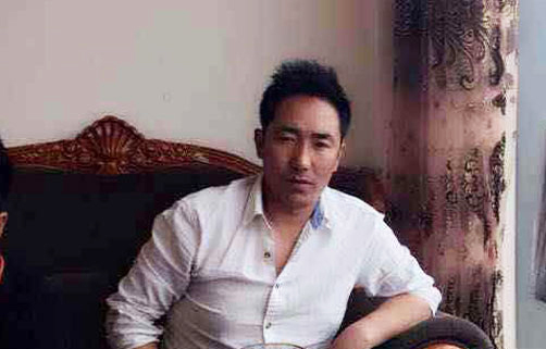 Tibetan protester Pasang Wangchuk in an undated photo. (Photo courtesy: RFA)