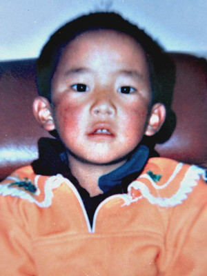 The 11th Panchen Lama Gedhun Choekyi Nyima.