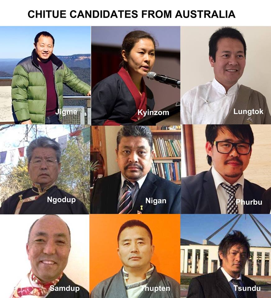 Tibetan parliament candidates for Australia etc region hold debate