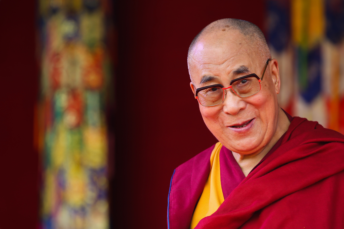 Tibet's exiled spiritual leader, the Dalai Lama.