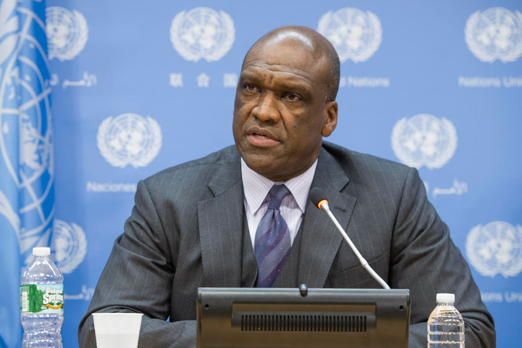 Former UN General Assembly President John Ashe. (Photo courtesy: un.org)