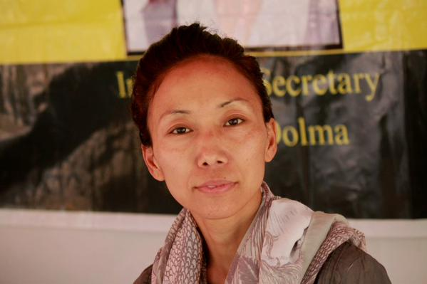 Ms Tsewang Dolma, the Information and International Relations Secretary of the TYC.