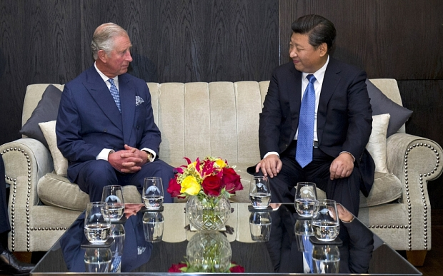 Prince Charles and Xi Jinping share a private meeting together. (Photo courtesy: independent.co.uk)