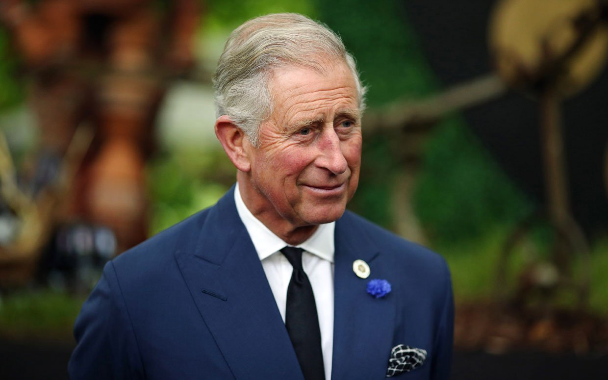 Prince Charles, heir to the British throne.