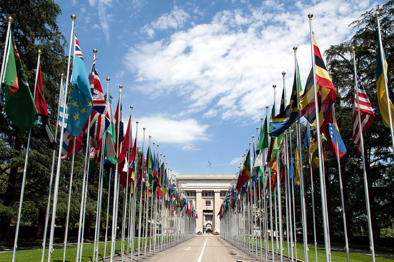 UN Human Rights Council in Geneva, Switzerland.