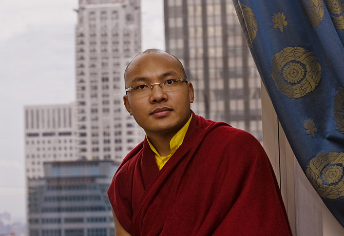 The 17th Karmapa Ogyen Trinley Dorje.