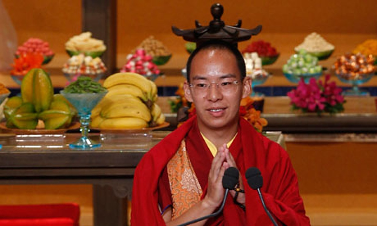 China's chosen Panchen Lama. (Photo courtesy: theguardian.com)