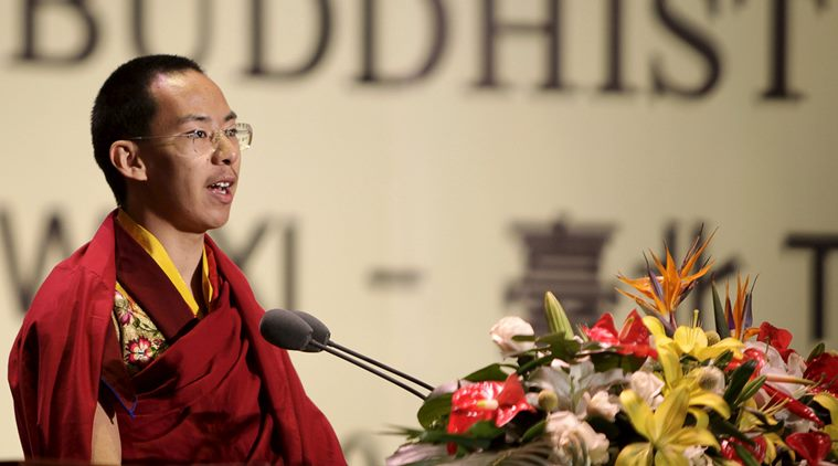 Gyaltsen Norbu, the Panchen Lama chosen by China. (Photo courtesy: REUTERS)