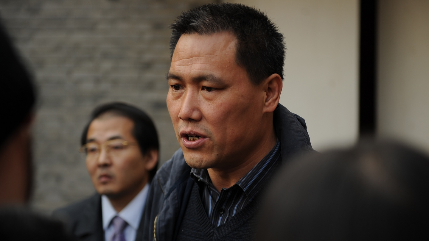 Prominent human rights lawyer Pu Zhiqiang. (Photo courtesy: AFP)