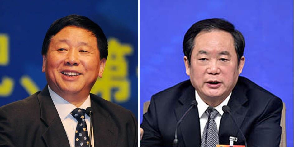 Ye Xiaowen, head of the State Administration for Religious Affairs (SARA) for over a decade until 2009, and Zhu Weiqun, former head of the Tibet section of the United Front Work Department.