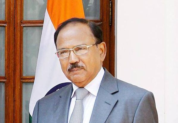 India's national security advisor Ajit Doval.