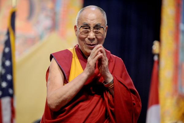 "China authenticated 870 ""living Tibetan Buddhas"" after launching an online system aimed at ferreting out fraudsters. The Dalai Lama, seen here in July in New York City, is a living Buddha and the spiritual leader of Tibetan Buddhism. (Photo courtesy: UPI)"