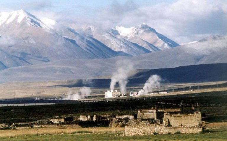 The largest proportion of Chinese geothermal power plants are found in Tibet. (Photo courtesy: CNS)
