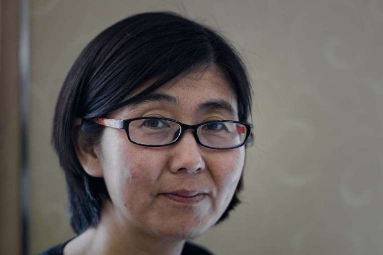 Civil rights lawyer Wang Yu was detained during a crackdown on activists in July. (Photo courtesy: Reuters)