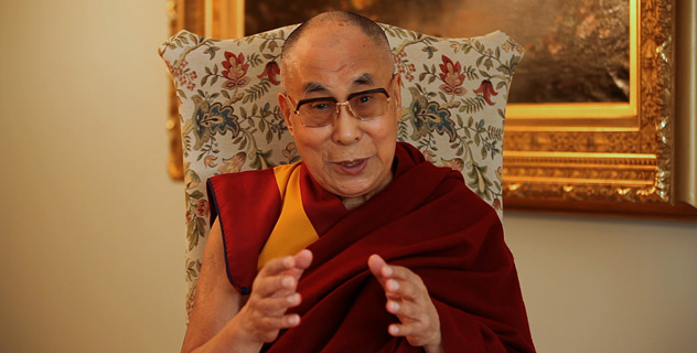 His Holiness the Dalai Lama speaking to Tibetans in Tibet and in exile as well as friends and supporters world wide as the Tibetan New Year approaches from Rochester, Minnesota, USA on February 4, 2016. (Photo courtesy: OHHDL)