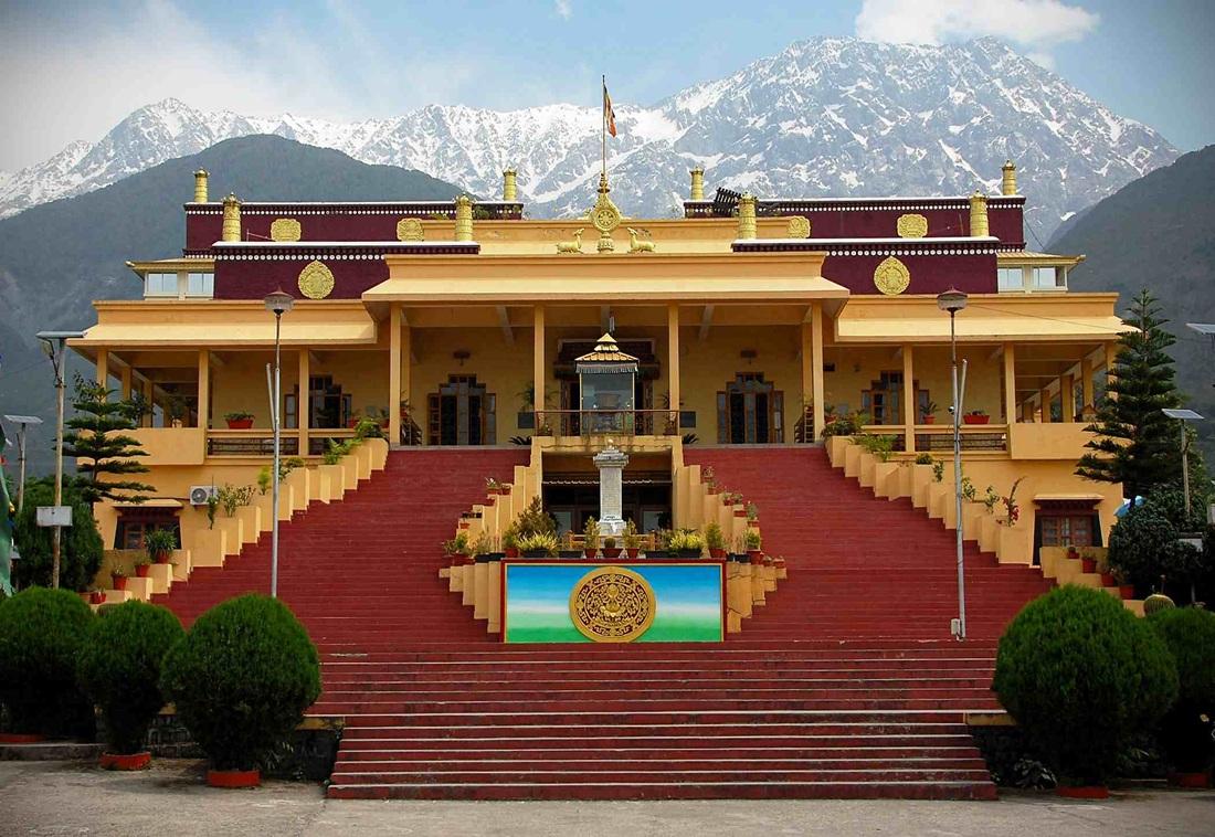 Gyuto Tantric Monastic University, Sidhbari, Dharamshala. (Photo courtesy: norbulingka.org)